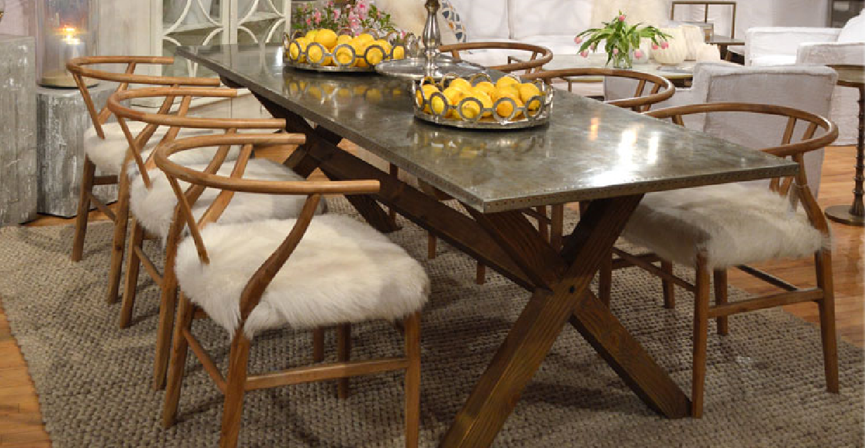 Dining - Wood Criss-Cross