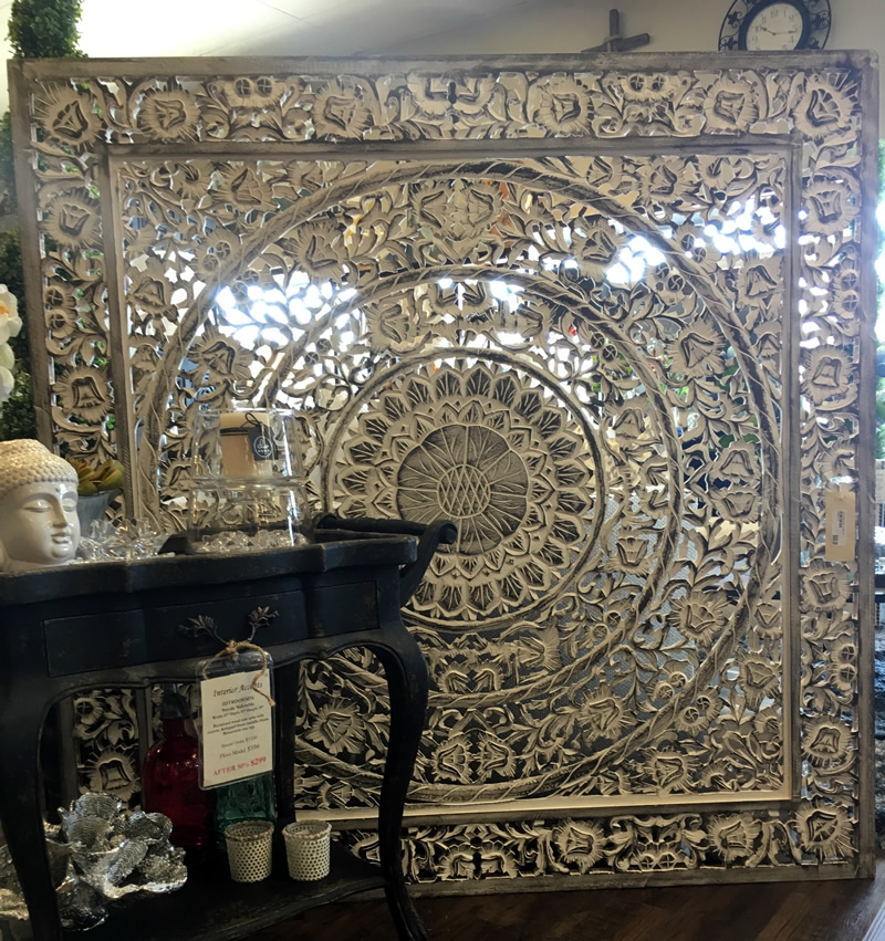 Intricate detailed wall art